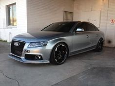 Audi A4 to RS4 Grill question.                                                                                                                                                                                 More
