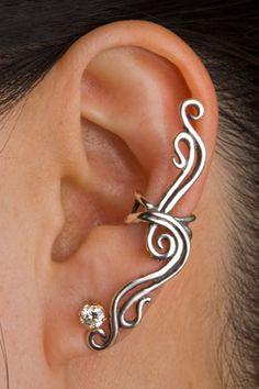 Marty Magic Store - French Twist Ear Cuff  Silver, $59.00 (http://www.martymagic.com/products/French-Twist-Ear-Cuff.html)