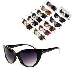 NEW Cat Eye Sunglasses Women Fashion Sexy  UV400 Sun Glasses Brand Designer Female Eyewear oculos de sol feminino NK-4 #Affiliate