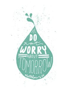 God doesn't want you to live worried and anxious about anything. He knows that worry is counterproductive. It steals your peace and joy and affects every area of your life—your sleep, your health, your peace. Worry steals precious moments of time that you can never get back. Decide today to put an end to worry in your life. Don't feed worry by focusing on bad news all the time. Sure, we should be informed, but we should be more informed of the truth of the Word of God. Feed your faith by…