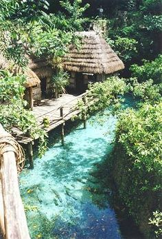 Tourism in real mexico - english version: Xcaret Eco Theme Park is located on the Riviera Maya,