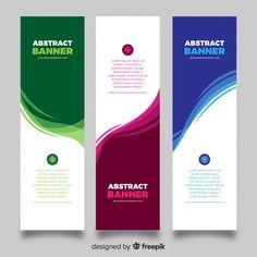 Modern banner template with abstract splash Vector Company Brochure Design, Graphic Design Brochure, Powerpoint Design Templates, Brochure Template, Magazine Ideas, School Brochure, Best Banner Design, Brochure Inspiration, Certificate Design