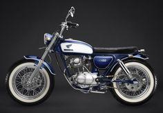 Modifikasi Honda CB 100 Vintage