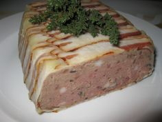Meatloaf, Starters, Recipies, Food And Drink, Appetizers, Cooking, Blog, Chef Recipes, Recipes