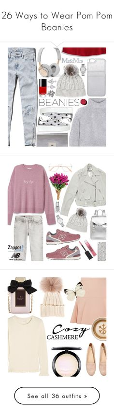 """""""26 Ways to Wear Pom Pom Beanies"""" by polyvore-editorial ❤ liked on Polyvore featuring waystowear, pompombeanies, Abercrombie & Fitch, Acne Studios, B&O Play, Sofia Cashmere, Kenzo, Proenza Schouler, MICHAEL Michael Kors and Chanel"""