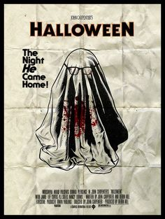 I saw the original Halloween (1978 version) , maybe my new favorite horror movie