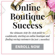 How to start an online boutique while working a full time job. Tips and thinsg to consider if you have a 9 to 5 job and would like to start an online boutique. Also get my FREE start your boutique checklist