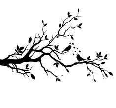 silhouette love birds - Pesquisa Google
