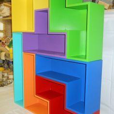DIY #Tetris shelves