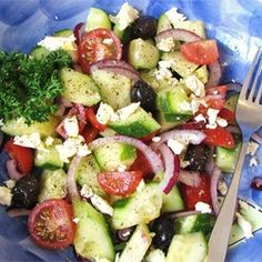 Good for You Greek Salad Allrecipes.com