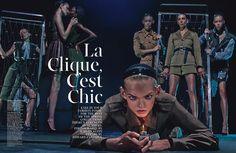 La Clique, C'est Chic (W Magazine)