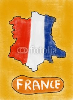 France illustration (sketching)