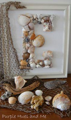 great idea for all the sea shells!