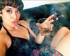 Black Womens And Cigar Cigars And Women, Women Smoking Cigars, Smoking Ladies, Cigar Smoking, Cigar Girl, Good Cigars, Picture Collection, Black Women, Beautiful Pictures