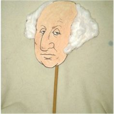 Although we celebrate President's Day on February February is Washington's official birth date and the FreeKidsCrafts Team has designed a puppet George Washington Biography, George Washington Costume, George Washington Quotes, Washington Art, Puppet Crafts, My Father's World, Facts For Kids, Presidents Day, Founding Fathers