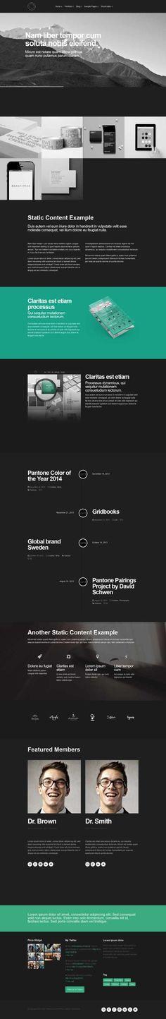 Blaine - The Multipurpose Portfolio theme Die 10 besten WordPress ...