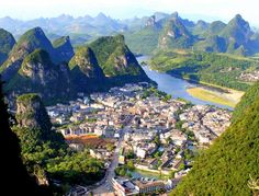 My favorite place in China! I loved, loved, loved Yangshuo off the Li River. I wish we were there longer.