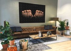 Chesterfield model Glenwood made by Springvale Chesterfields Masculine Living Rooms, Chesterfield, Flat Screen, Couch, Model, Furniture, Home Decor, Flat Screen Display, Decoration Home
