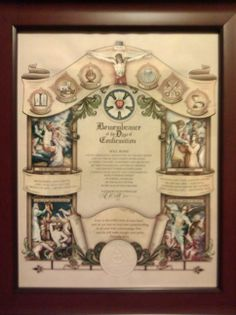 Confirmation certificate. David And Goliath, Lutheran, Confirmation, Missouri, Certificate, Christianity, Vintage World Maps, Frame, Decor