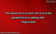 Chiropractic Wellness Quote