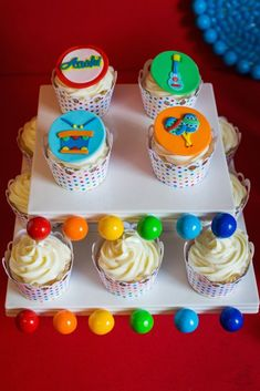 Baby Jam Musical Themed 1st Birthday Party via Kara's Party Ideas KarasPartyIdeas.com Printables, cake, favors, recipes, giveaways, tutorials and more! #musicparty #musicalparty #musicjamparty #genderneutralpartyideas #karaspartyideas #firstbirthday (50)