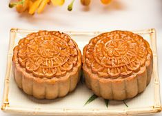 Mini Patisserie, Moon Cake, Food Facts, Flan, Apple Pie, Asian Recipes, Tea Party, Nom Nom, Biscuits