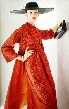 1956 Coat and dress by Claire McCardell
