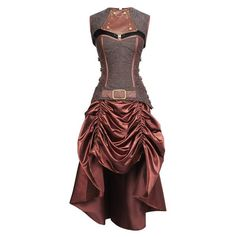 VG-18916 - Steampunk Corset Dress