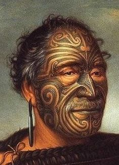 Maori tattoos are part of the culture of the Indigenous people of New Zealand. Maori facial tattoos never cross the midline of the face and were used to instil fear in invaders. Maori Tattoos, Maori Face Tattoo, Ta Moko Tattoo, Body Art Tattoos, Tribal Tattoos, Filipino Tattoos, Cara Tribal, Guerrero Tribal, Mike Tyson Tattoo