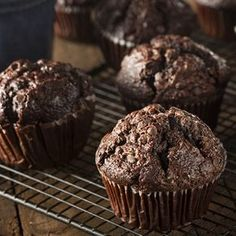 Čoko-tvarohové muffinky
