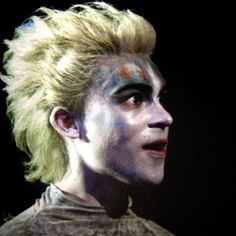 Tom Byam Shaw as 'Ariel' in Trevor Nunn's 2011 play Ralph Fiennes, Ariel, Joker, Play, Fictional Characters, The Joker, Fantasy Characters, Little Mermaids