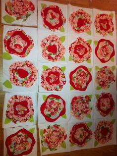 french roses quilt pattern | Stacie Thinks She Can: French Roses quilt update