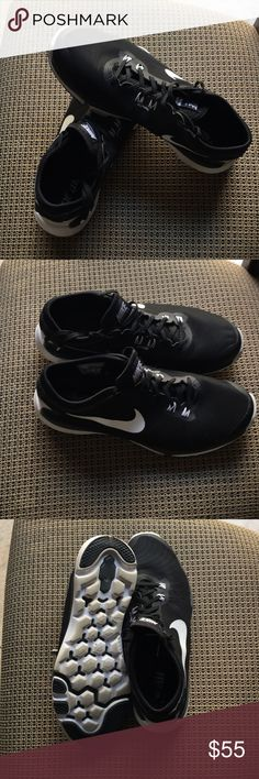 Like New - Nike Training Flex Supreme TR4 Like New- Black Nike Training Shoes Nike Shoes Sneakers