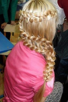 When I look at hairstyles like this one, I always wonder how long it took the person to do it...