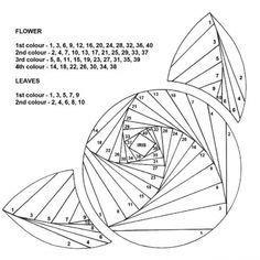 free iris folding patterns - Google Search More