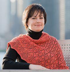 Pretty Maids Shawl: Knitty Deep Fall 2010