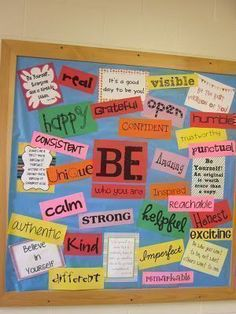 Secondary School Bulletin Board Ideas | and lastly one of the bulletin boards for the hallways idea taken from ... #schoolhallwayideas #hallwayideas