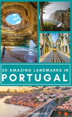 20 Incredible Landmarks in Portugal Famous Monuments, Famous Landmarks, Romantic Vacations, Romantic Travel, Southern Europe, Venice Travel, Natural Park, The Monks, Portugal Travel