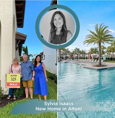 Huge congrats to these happy buyers! With the help of our super agent Sylvia Wan Isaacs, they just purchased a new construction single family home in beautiful Alton in Palm Beach Gardens! Find out more about Sylvia: ☎️561.371.6610 ✉️Sylvia@EchoFineProperties.com #Realtor #RealEstate #JustSold #NewHome #Homes #Realty #FloridaRealtor #FloridaRealEstate #HomeSweetHome #SuperAgent Palm Beach Gardens, Flo Rida, New Construction, Single Family, The Help, Beautiful Homes, Places To Go, Home And Family, Sweet Home