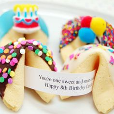 custom party fortune cookies