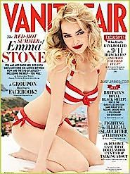 Vanity Fair-yeah its a magazine but I look forward to it each month