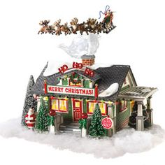 """The Santa Claus House"""