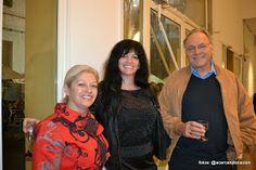 Con Ofelia Fernandez y Cecilia Fraire y sr
