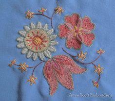 Wool stitching -- Anna Scott (her website has so many ideas)