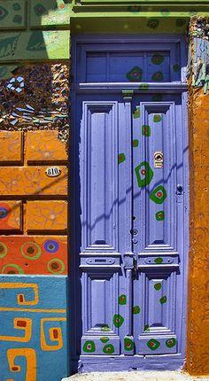 Purple #door Argentina@17.0-85-(60) by  Francesco G., via Flickr