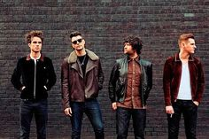 The Courteeners - absolutely love all the gear on display here!!