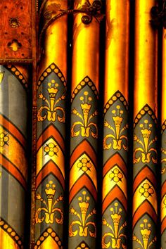 Organ pipes, Hereford Cathedral