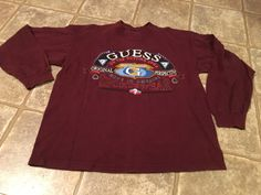 90s Guess vintage long-sleeve t-shirt rare by VintageShitfest