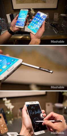 The Samsung Galaxy Note 5