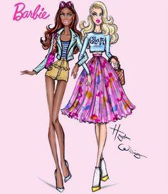 Hayden Williams Fashion Illustrations: Barbie Style: BFF by Hayden Williams